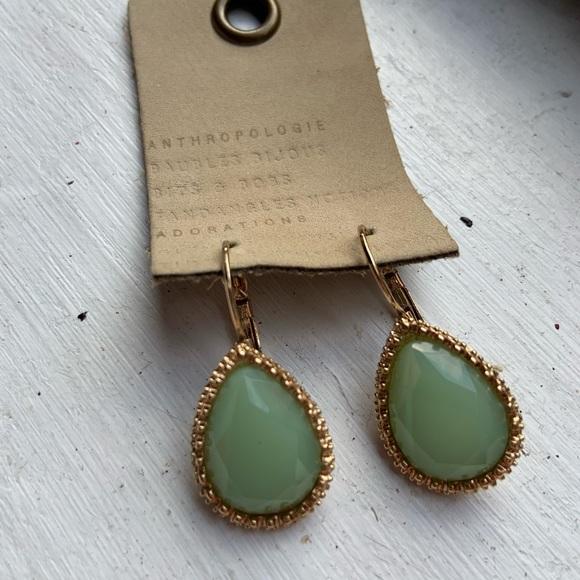 Francesca's Collections Jewelry - Mint Teardrop Earrings